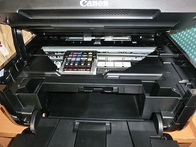 プリンターのインクを入れ変えたら印刷がおかしくなった