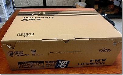 富士通のノートパソコンwindows8.1を初めて初期設定した